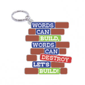 Words Can Build Keychain