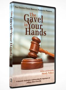 The Gavel in our Hands