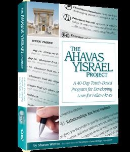 The Ahavas Yisrael Project