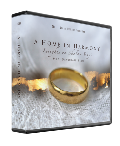 A Home In Harmony: Insights on Sholom Bayis