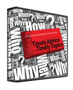 Timely Advice on Timely Topics vol. 3