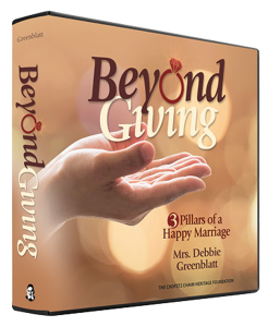 Beyond Giving