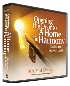 Opening the Door to a Home in Harmony
