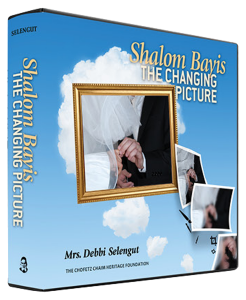 Shalom Bayis, the Changing Picture